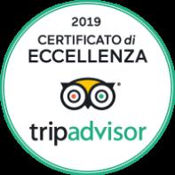 TripAdvisor Certificato Eccellenza